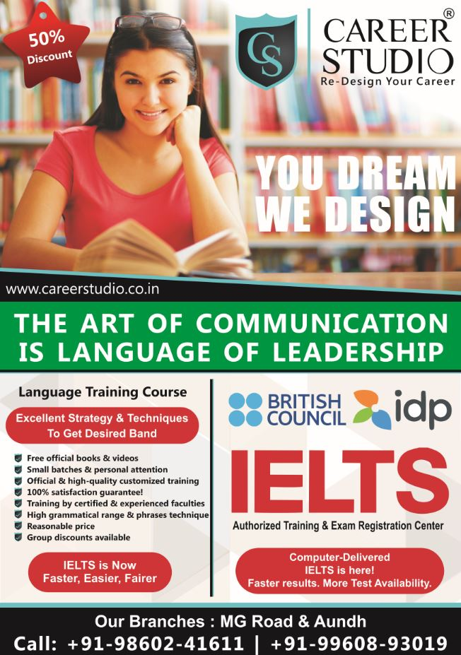 Ielts Training Center In Pune Welcome To Career Studio